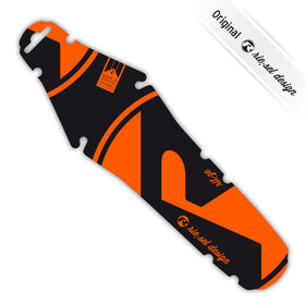 "rie:sel design rit:ze Mudguard 26-29"" orange/black"